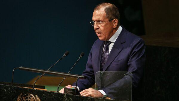 Министр иностранных дел РФ С.Лавров в Нью-Йорке - Sputnik Узбекистан
