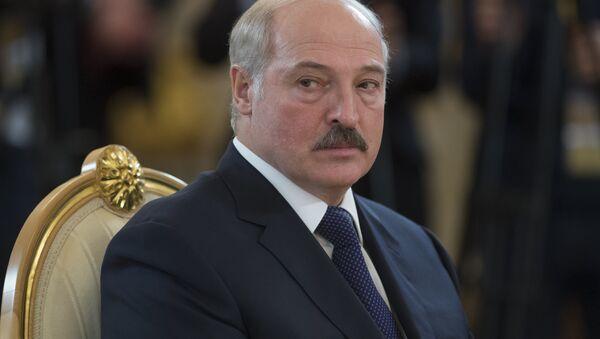 Президент Белоруссии Александр Лукашенко - Sputnik Узбекистан
