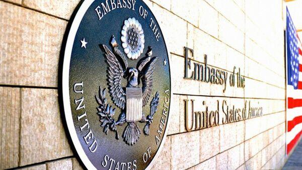 Посольство США - Sputnik Ўзбекистон