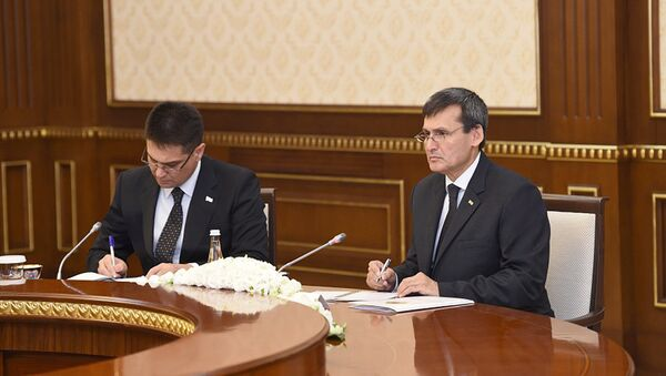 Министр иностранных дел Туркменистана Рашид Мередов - Sputnik Узбекистан
