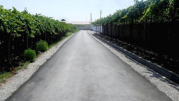 Отремонтированная дорога в Узбекистане - Sputnik Узбекистан