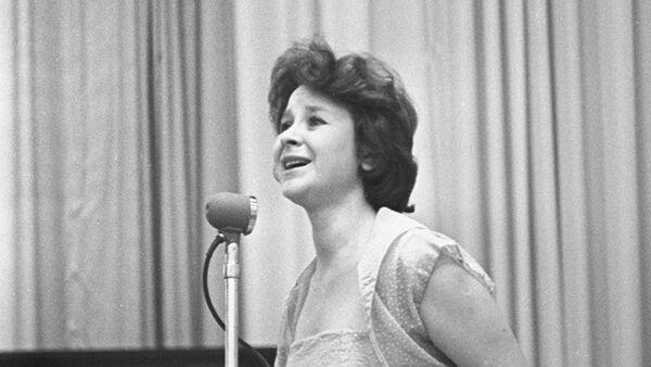 Российская певица Тамара Миансарова - Sputnik Узбекистан