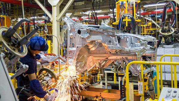 Как делают автомобили GM Uzbekistan - Sputnik Узбекистан