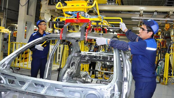Как делают автомобили GM Uzbekistan - Sputnik Ўзбекистон