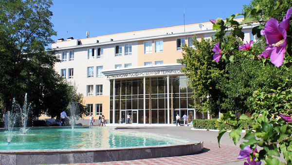 Здание Астраханского технического университета - Sputnik Ўзбекистон