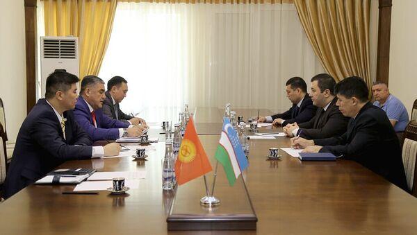 Заместитель министра внутренних дел РУз встретился с заместителем министра внутренних дел Кыргызской Республики - Sputnik Ўзбекистон