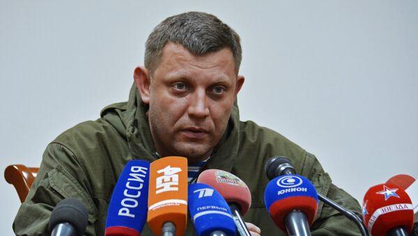 Пресс-конференция Александра Захарченко в Донецке - Sputnik Ўзбекистон