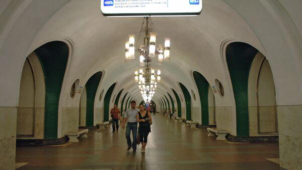 Станция метро ВДНХ - Sputnik Узбекистан