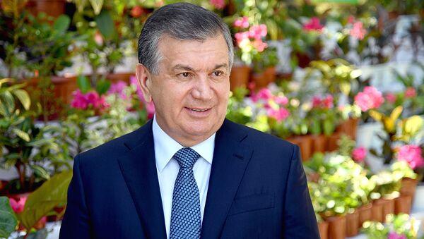 Prezident Uzbekistana Shavkat Mirziyoyev - Sputnik Oʻzbekiston