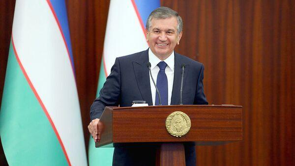 Ўзбекистон президенти Шавкат Мирзиёев - Sputnik Ўзбекистон