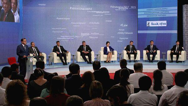 Politicheskiye partii: analiz, initsiativы i sotsialnaya otvetstvennost - Sputnik Oʻzbekiston