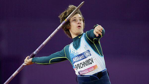 Aleksandr Svechnikov na chempionate mira po para-atletike v Londone - Sputnik Oʻzbekiston