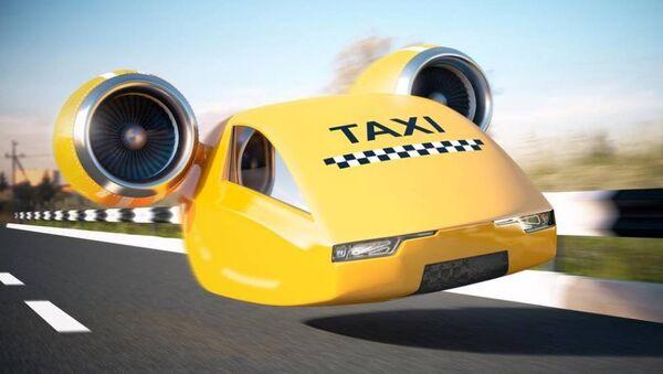 Такси будущего - Sputnik Ўзбекистон