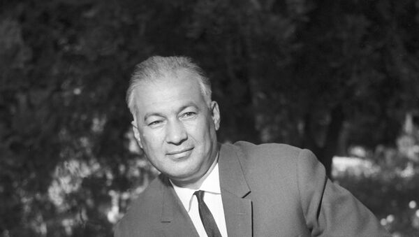 Первый секретарь ЦК КП Узбекистана Ш.Р.Рашидов - Sputnik Ўзбекистон