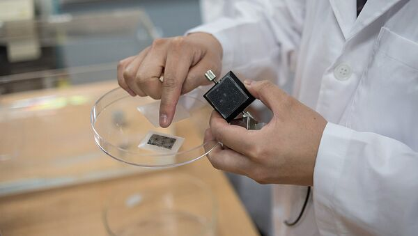 Пластырь, разработанный южнокорейскими учеными - Sputnik Узбекистан