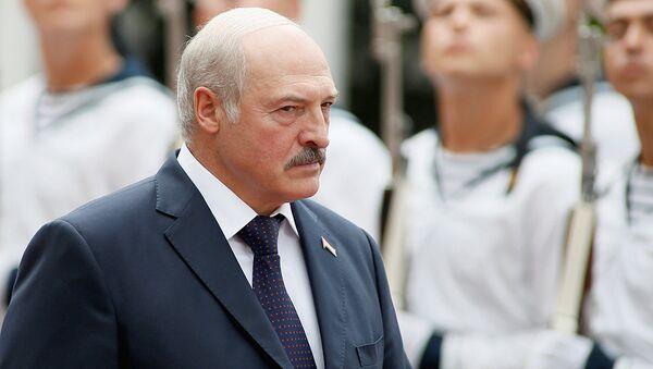 Александр Лукашенко по время официального визита в Киев - Sputnik Ўзбекистон