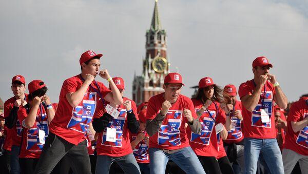 Den rossiyskogo boksa na Krasnoy ploщadi - Sputnik Oʻzbekiston