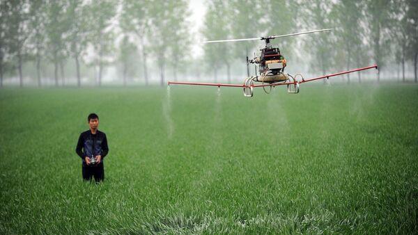 Selxoz dron - Sputnik Oʻzbekiston