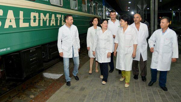 Поезд Здоровья - Sputnik Узбекистан