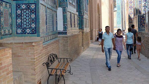 Туристы в Узбекистане - Sputnik Ўзбекистон