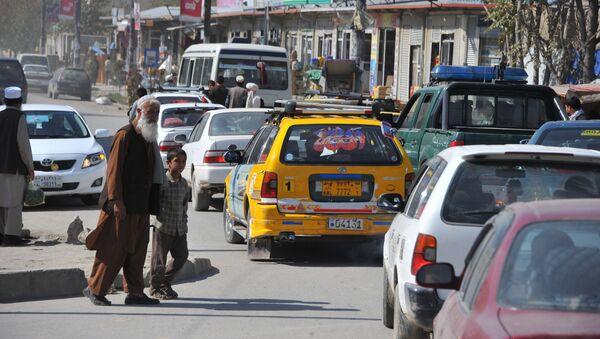 В воскресный день в центре Кабула - Sputnik Ўзбекистон
