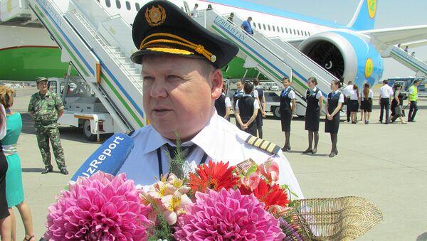 Pilot-instruktor letnogo otryada Boeing 787 Aleksey Markin - Sputnik Oʻzbekiston