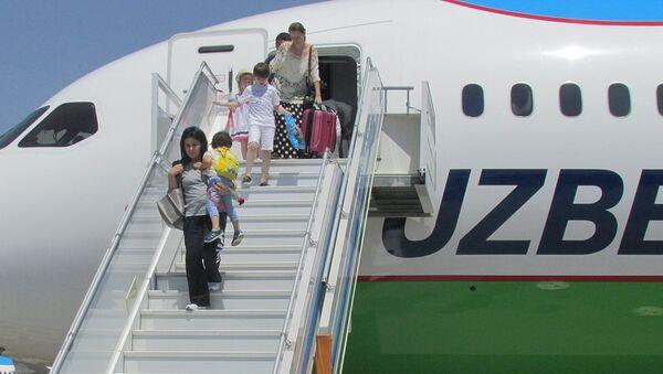 В Ташкенте приземлился Boeing, совершивший первый прямой рейс из США - Sputnik Ўзбекистон