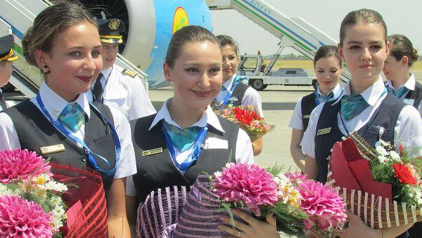 V Tashkente prizemlilsya Boeing, sovershivshiy pervыy pryamoy reys iz SSHA - Sputnik Oʻzbekiston