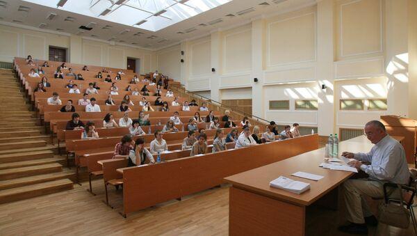 Studentы v auditorii - Sputnik Oʻzbekiston