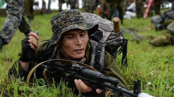 Военнослужащий вооруженных сил Узбекистана - Sputnik Узбекистан