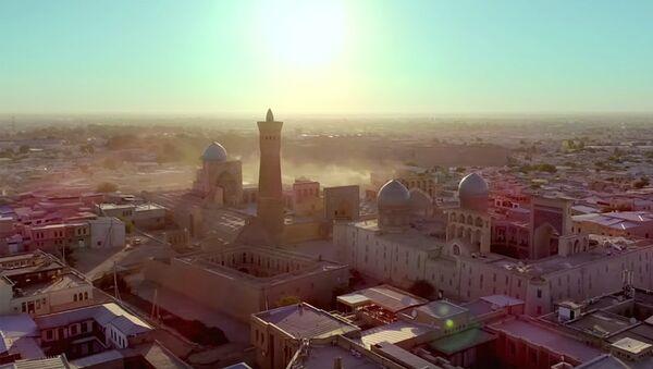 Промо-ролик города Бухары для международного продвижение страны - Sputnik Ўзбекистон