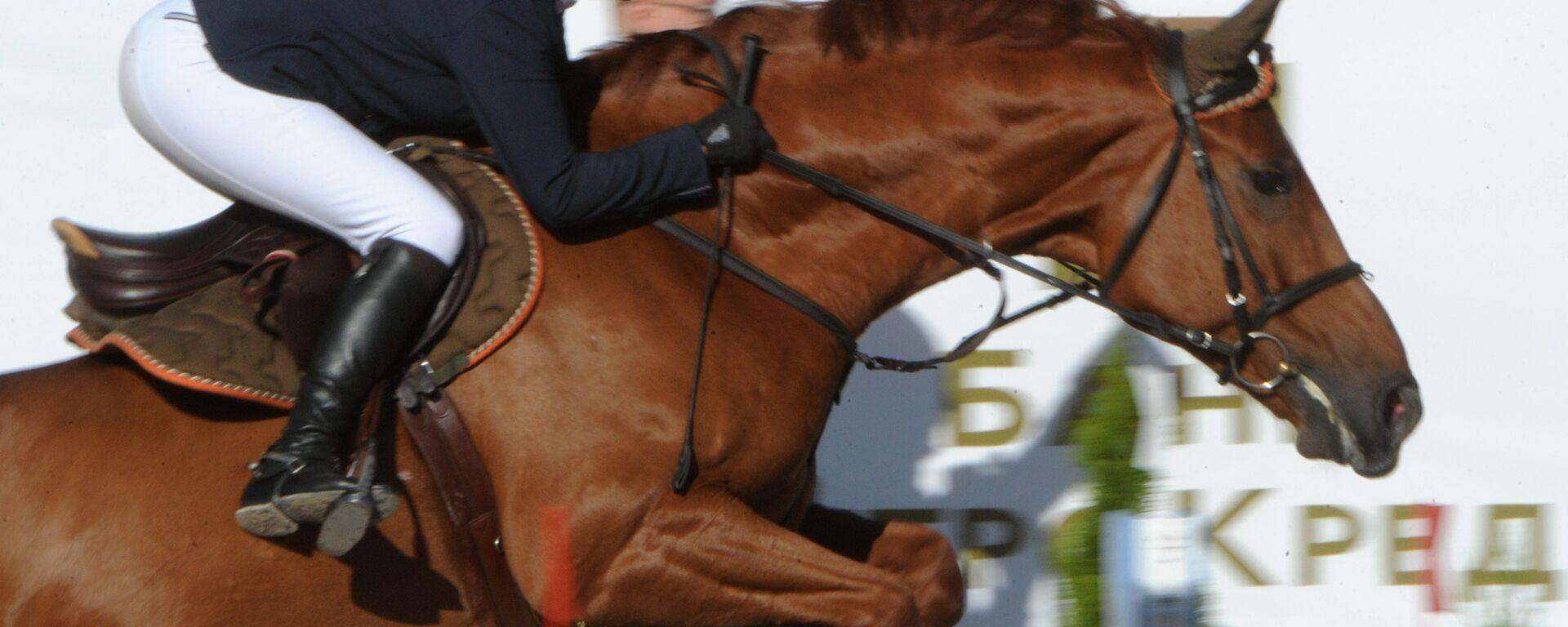 Международный конный турнир  - Sputnik Узбекистан, 1920, 06.08.2021