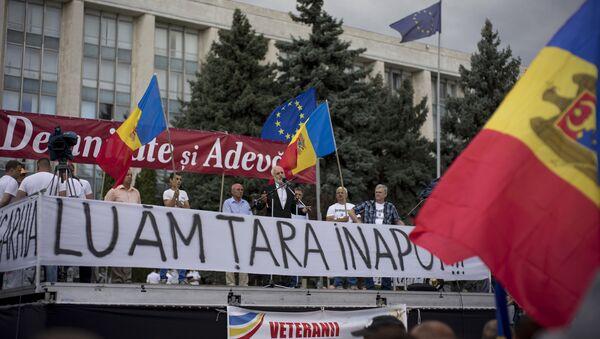 Акции протеста в Кишиневе - Sputnik Узбекистан