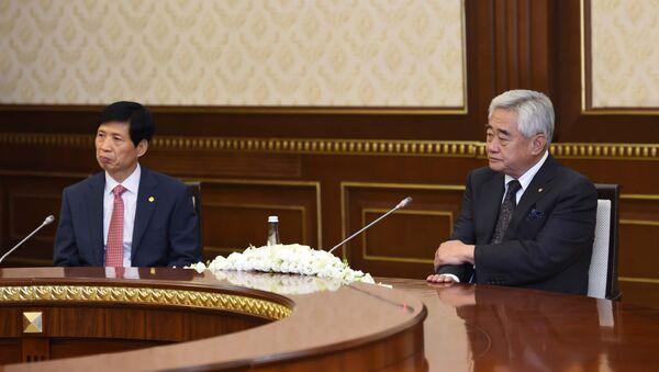 Президент Всемирной федерации таэквондо Чо Чунг Вон - Sputnik Узбекистан