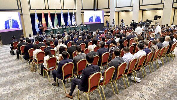 Международная конференция Центральная Азия – главный приоритет внешней политики Узбекистана - Sputnik Узбекистан