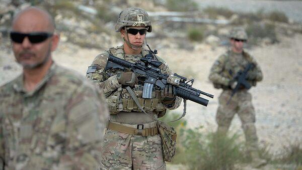 Voyennoslujaщiy armii SSHA v Afganistane - Sputnik Oʻzbekiston