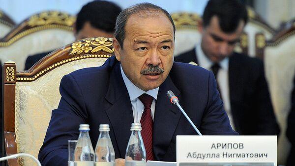 Премьер-министр Узбекистана Абдулла Арипов во время визита в Кыргызстан - Sputnik Ўзбекистон