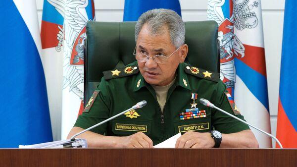 Министр обороны РФ Сергей Шойгу - Sputnik Ўзбекистон