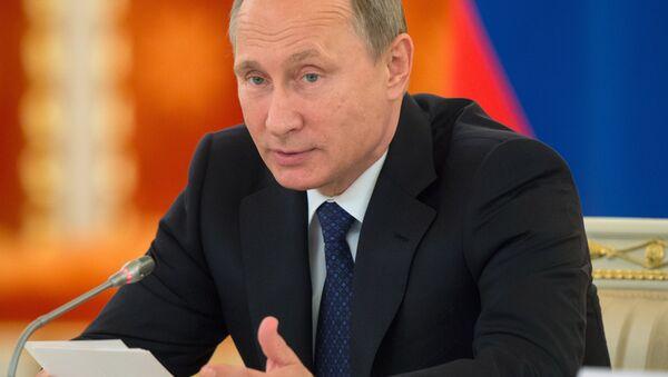 Президент РФ В.Путин провел заседание Совета по развитию гражданского общества и правам человека - Sputnik Узбекистан