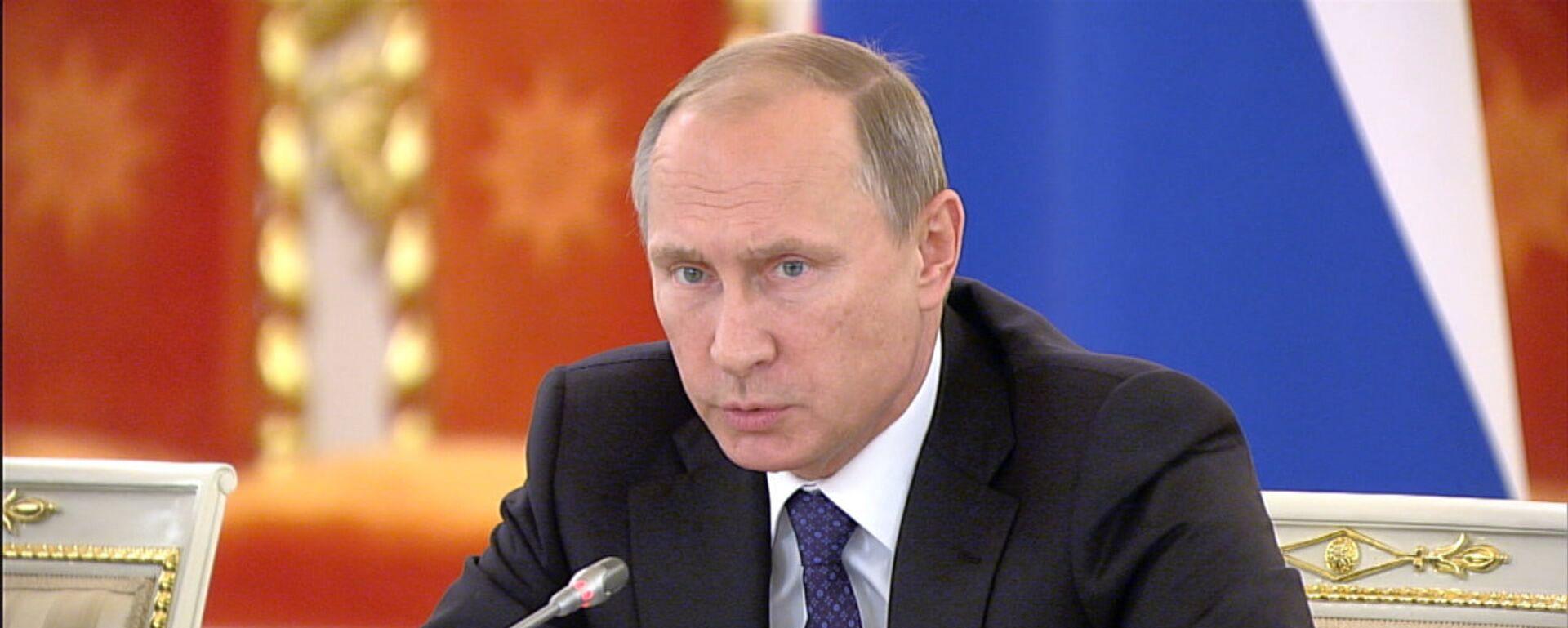 Россия президенти Владимир Путин - Sputnik Ўзбекистон, 1920, 07.10.2016