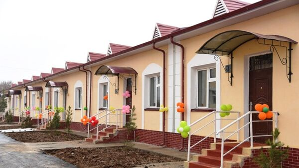 В Бухаре сданы в эксплуатацию новые типовые дома - Sputnik Ўзбекистон