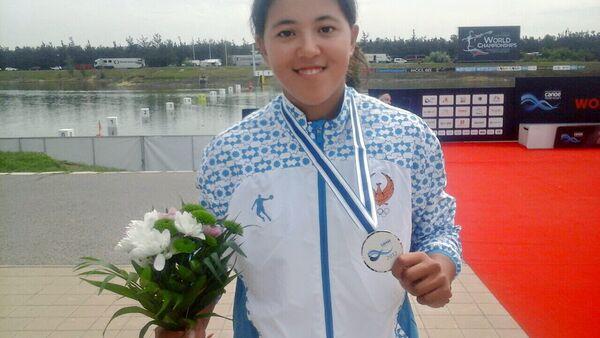 Shaxnoza Mirzayeva iz Uzbekistana zanyala 2 mesto v Chexii - Sputnik Oʻzbekiston