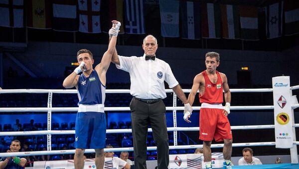 Сборная Узбекистана на чемпионате мира по боксу - Sputnik Ўзбекистон