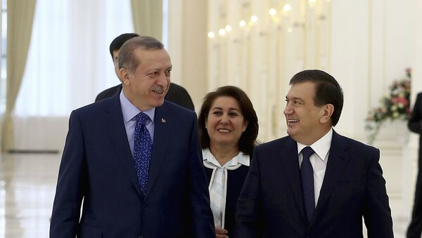 Визит президента Турции в Узбекистан - Sputnik Ўзбекистон