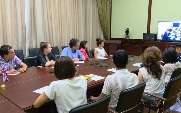 Государственный комитет по развитию туризма РУз совместно с посольством РУз в г. Лондоне организовал видеоконференцию между представителями туриндустрии Узбекистана и Великобритании - Sputnik Узбекистан