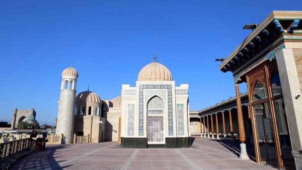 Мавзолей Ислама Каримова в Самарканде - Sputnik Узбекистан