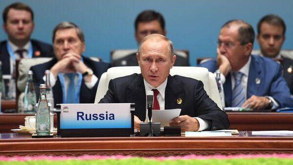 Prezident RF V. Putin na sammite liderov BRIKS. Den vtoroy - Sputnik Oʻzbekiston