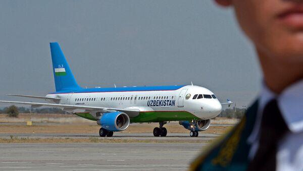 Самолет президента Узбекистана Шавката Мирзиёева - Sputnik Ўзбекистон