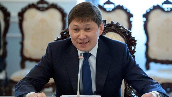 Премьер-министр КР Сапар Исаков - Sputnik Ўзбекистон