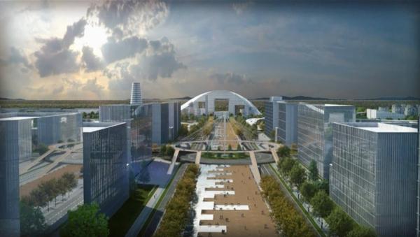 Проект Умного города Нурафшон - Sputnik Узбекистан
